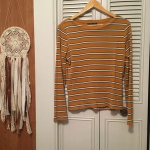 Tops - Striped Top with Cute Details